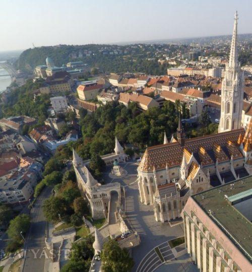 Matyas-Templom-Matthias-Church-Buda-Castle-Aerial